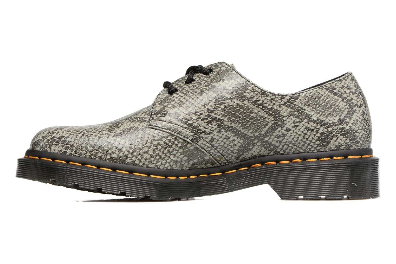 Chaussures à lacets Dr. Martens 1461 Gris vue face