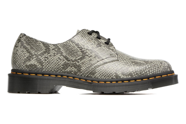 Chaussures à lacets Dr. Martens 1461 Gris vue derrière
