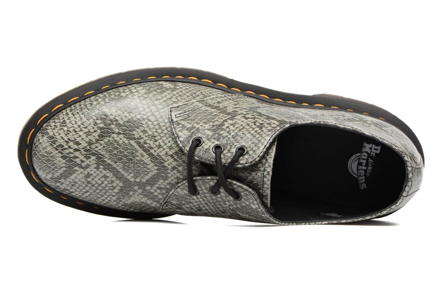 Lace-up shoes DR. Martens 1461 Grey view from the left