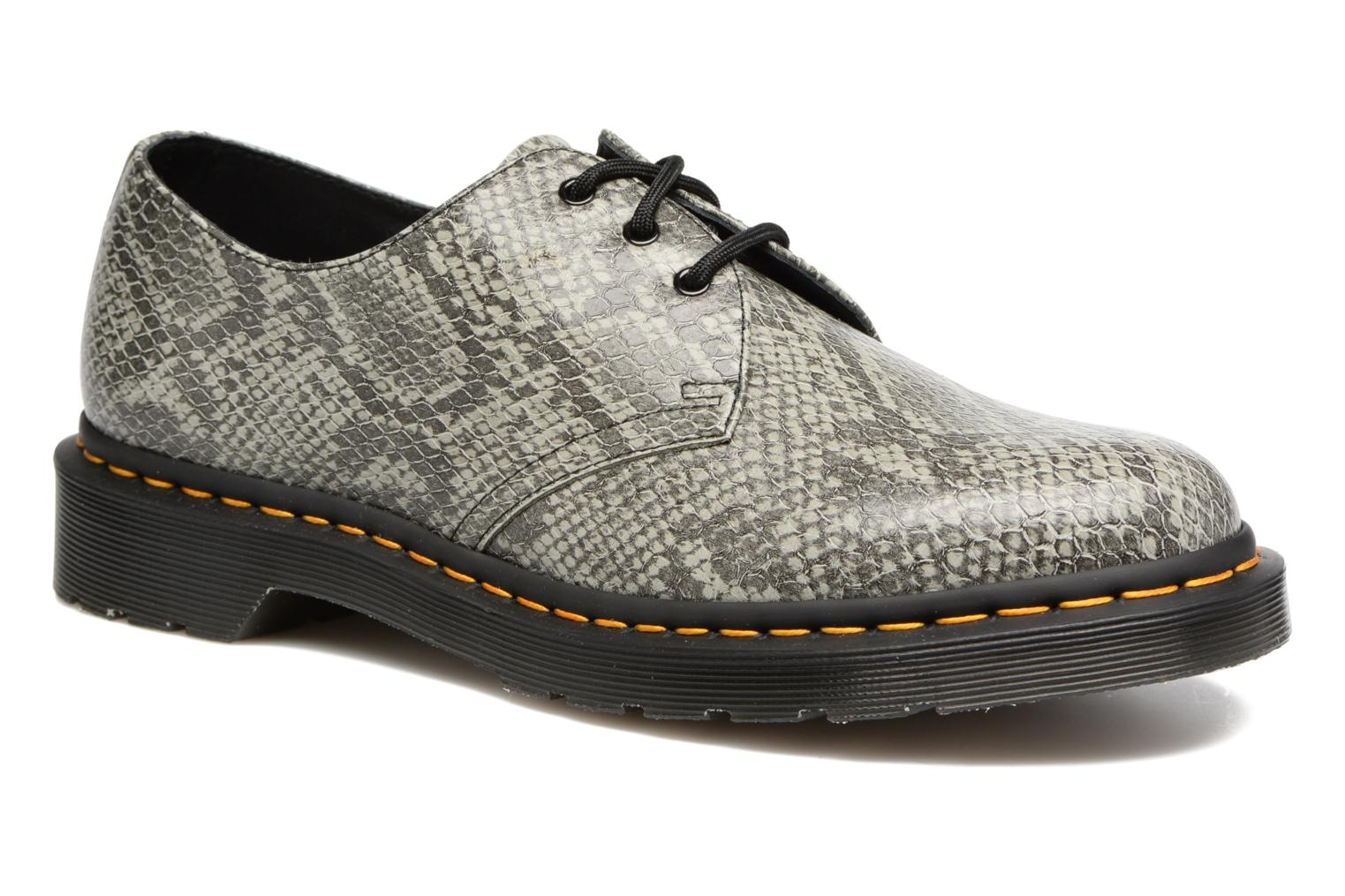 Lace-up shoes DR. Martens 1461 Grey detailed view/ Pair view