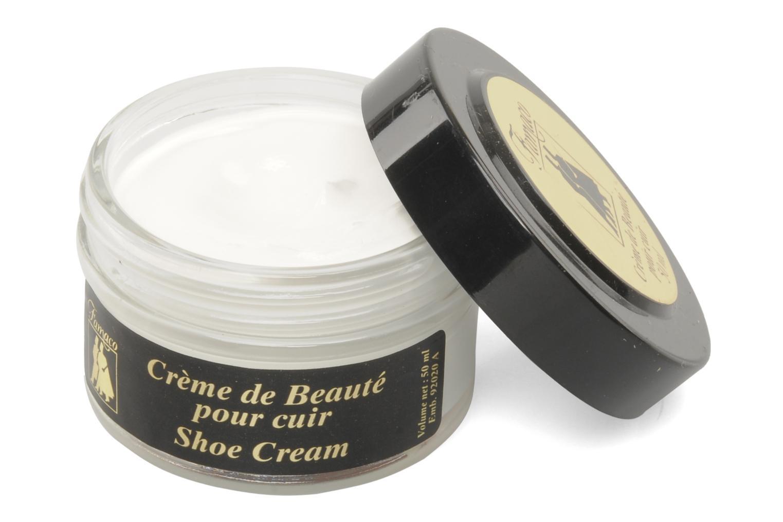 Produits d'entretien Famaco Cirage crème de beauté cuir 50 Ml Blanc vue détail/paire