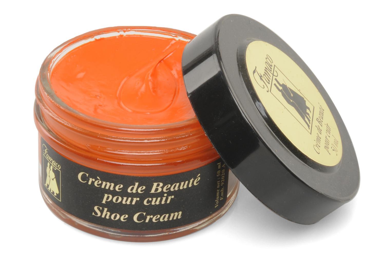 Produits d'entretien Famaco Cirage crème de beauté cuir 50 Ml Orange vue détail/paire