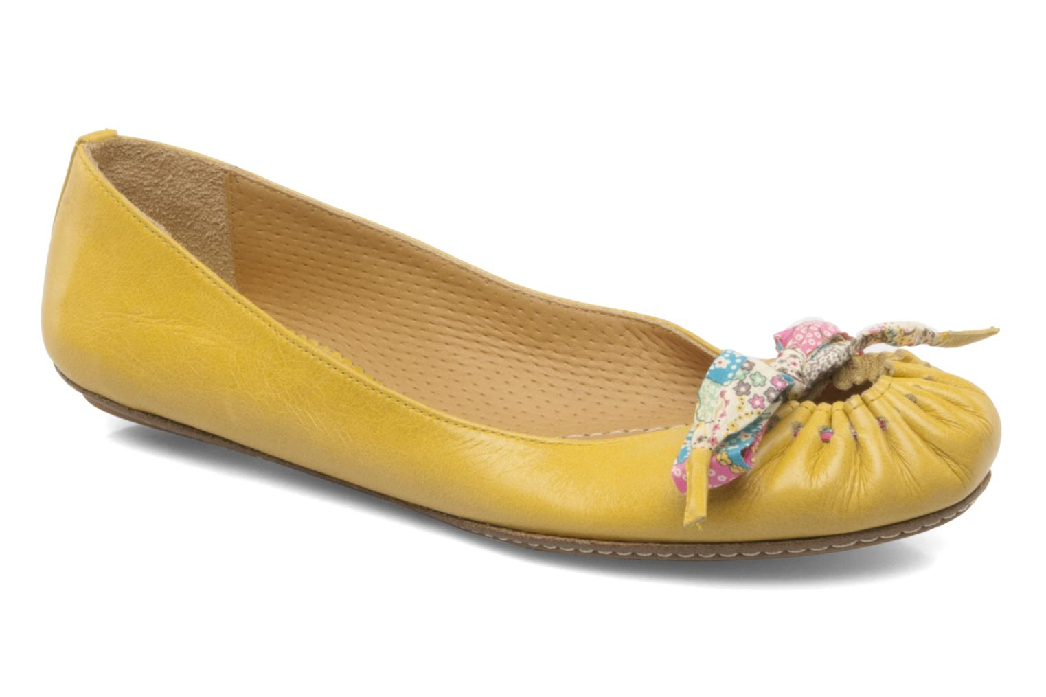 Ballet pumps Maloles Zoe Yellow detailed view/ Pair view