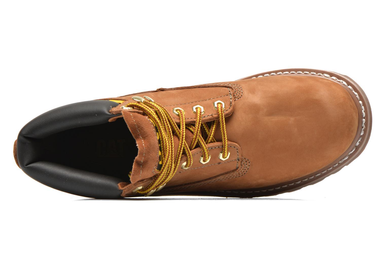 Boots en enkellaarsjes Caterpillar Colorado Beige links