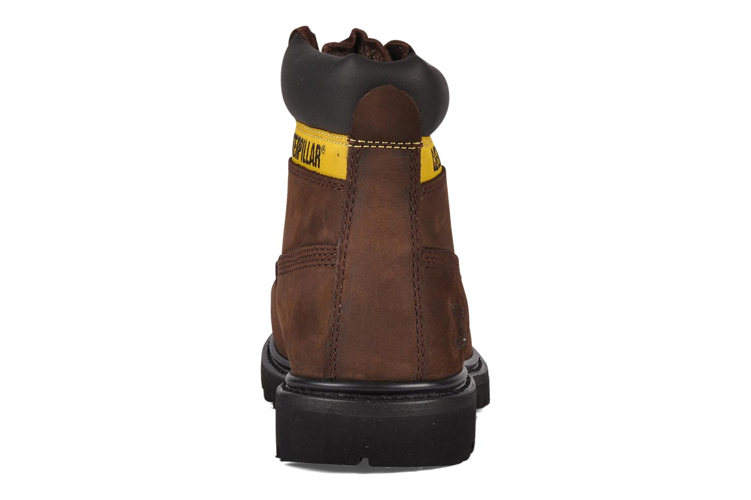 Bottines et boots Caterpillar Colorado Marron vue droite