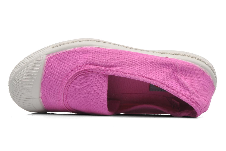 Ballerinas Bensimon Tennis Elastique E rosa ansicht von links