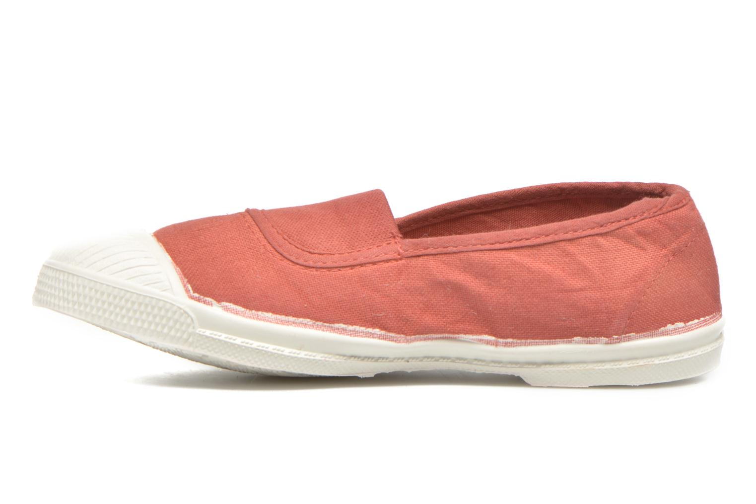 Ballerines Bensimon Tennis Elastique E Orange vue face