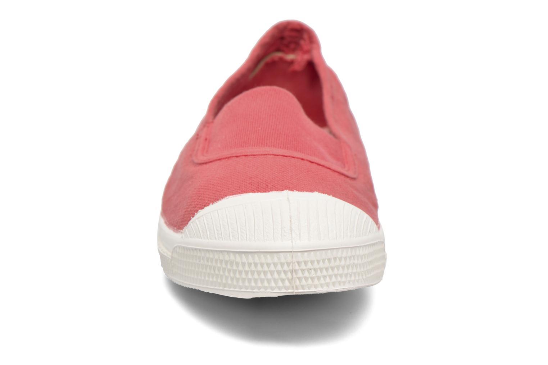 Ballerinas Bensimon Tennis Elastique E rosa schuhe getragen