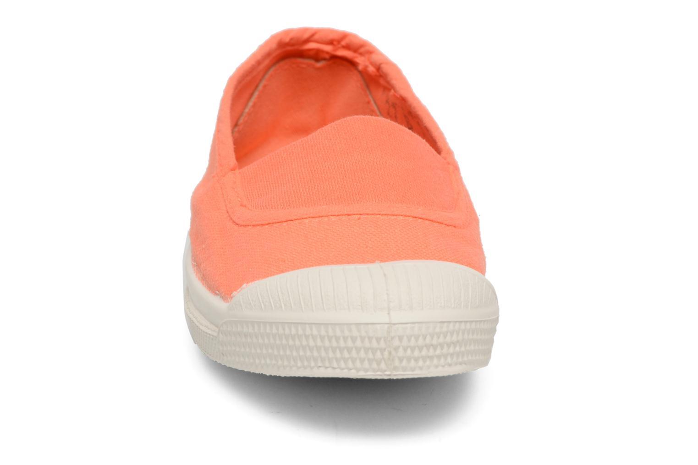 Ballerines Bensimon Tennis Elastique E Orange vue portées chaussures