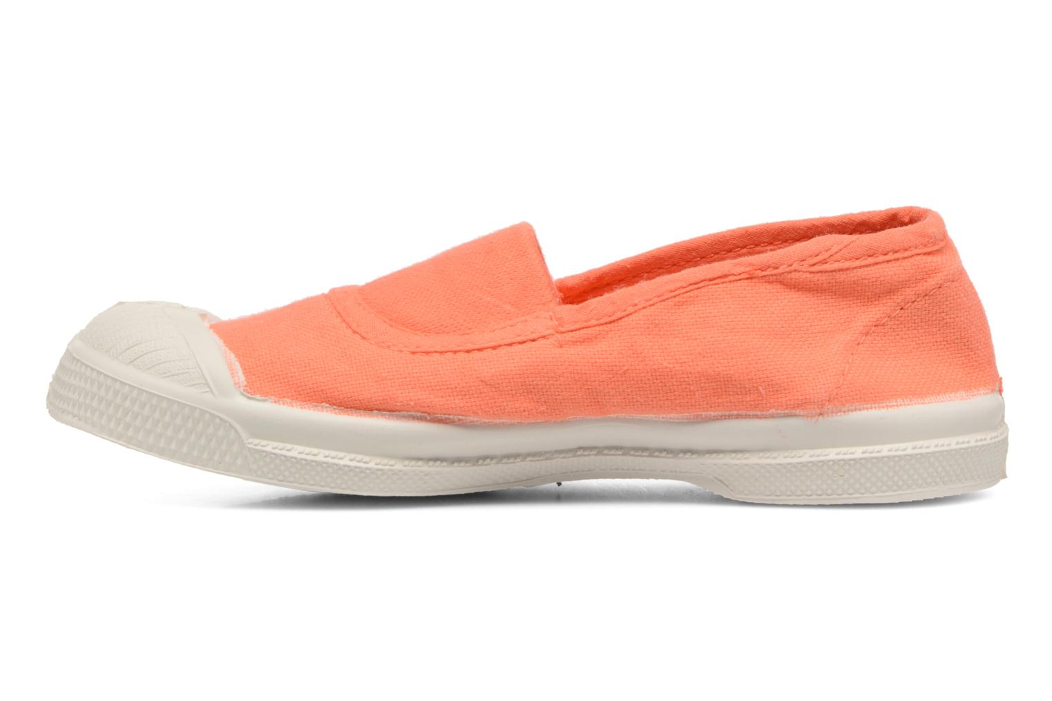Ballet pumps Bensimon Tennis Elastique E Orange front view