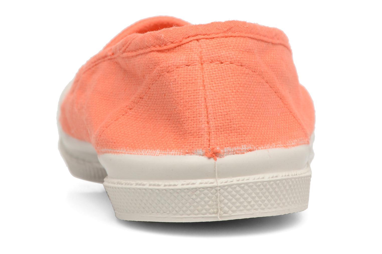 Ballerines Bensimon Tennis Elastique E Orange vue droite