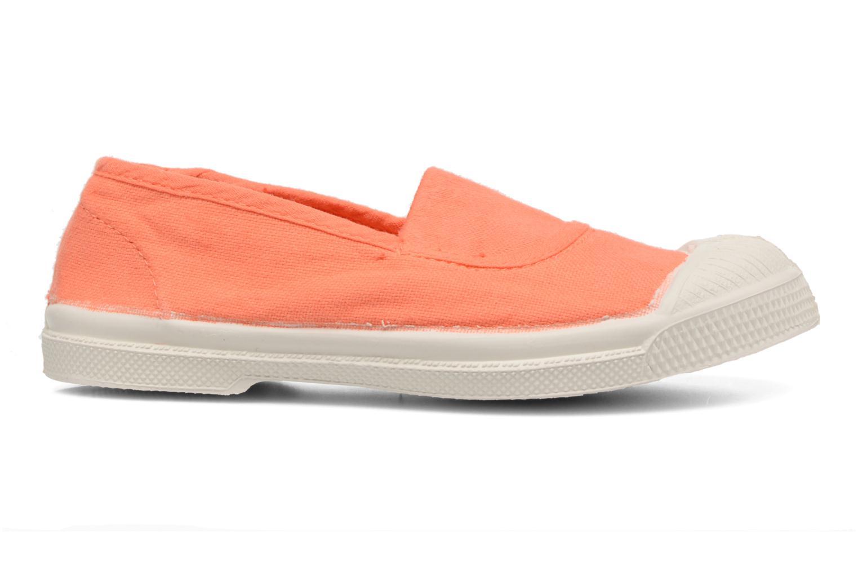 Ballerines Bensimon Tennis Elastique E Orange vue derrière