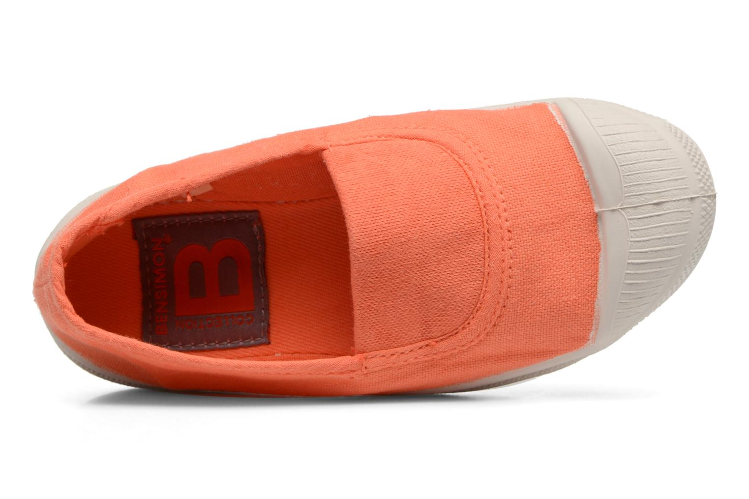 Ballerines Bensimon Tennis Elastique E Orange vue gauche