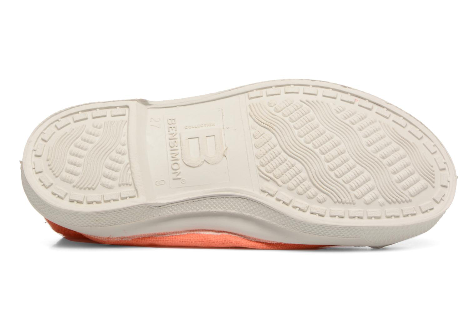 Ballet pumps Bensimon Tennis Elastique E Orange view from above