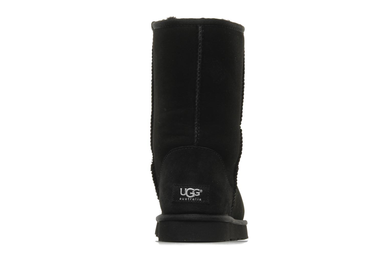 Bottines et boots UGG Classic Short Noir vue droite