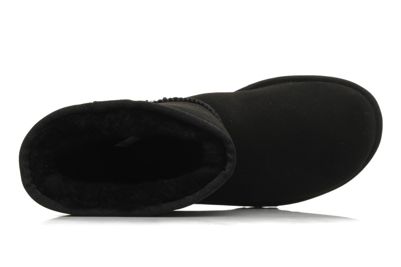 Bottines et boots UGG Classic Short Noir vue gauche