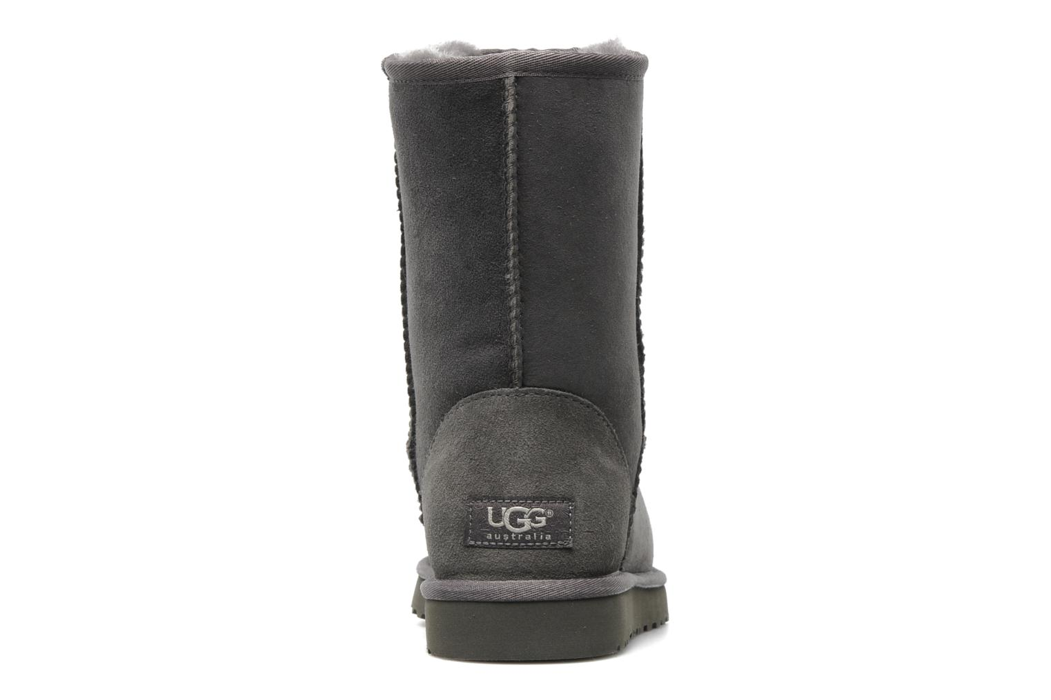 Ankle boots UGG Classic Short Grey view from the right