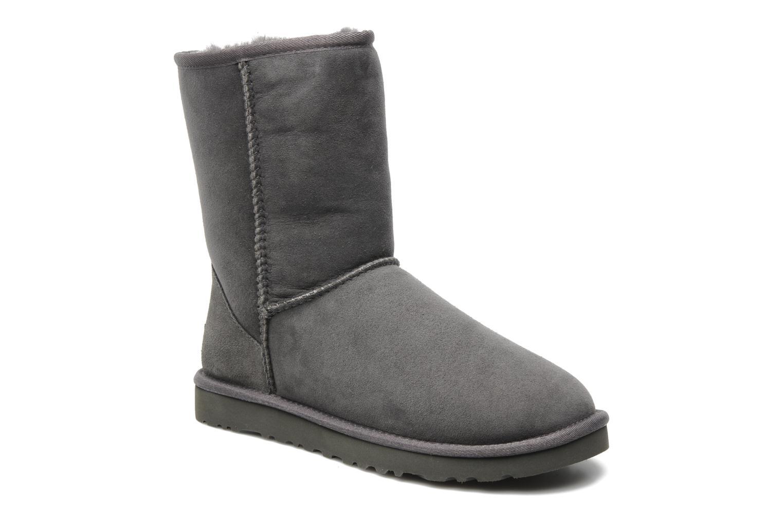 Bottines et boots UGG Classic Short Gris vue détail/paire