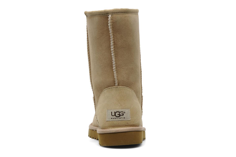 Bottines et boots UGG Classic Short Beige vue droite