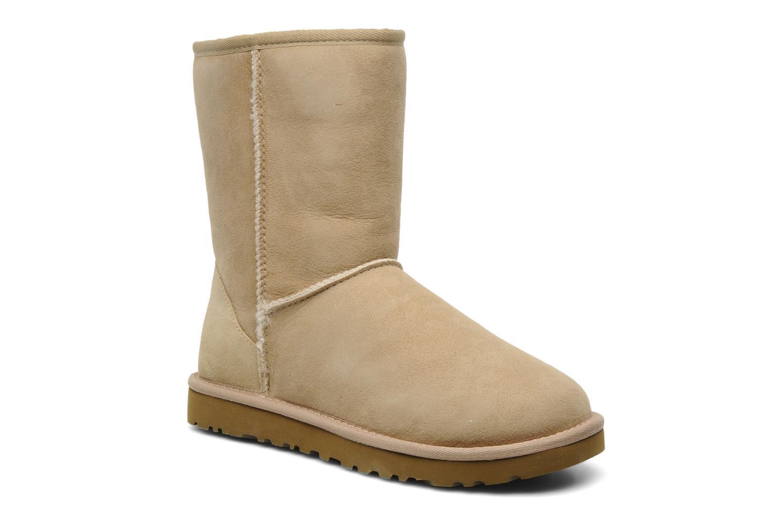 Bottines et boots UGG Classic Short Beige vue détail/paire