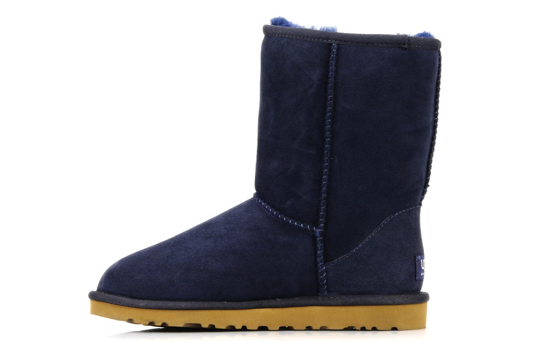Stiefeletten & Boots UGG Classic Short blau ansicht von vorne