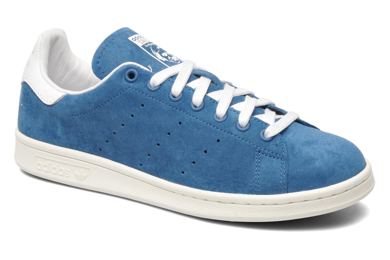 Sneakers Adidas Originals Stan Smith Blå detaljerad bild på paret