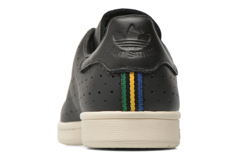 Sneaker Adidas Originals Stan Smith schwarz ansicht von rechts
