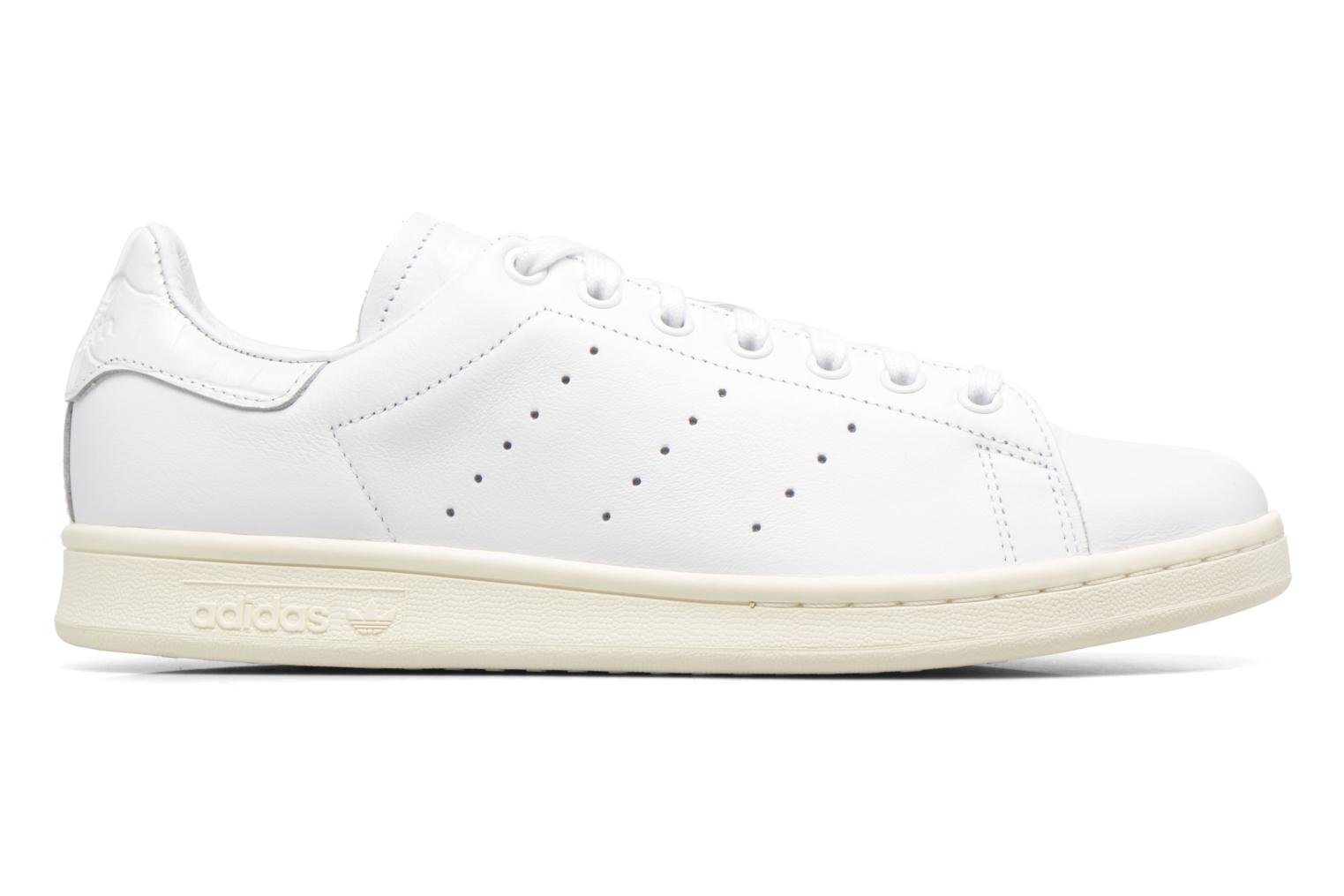 Blanc/Blanc/Rougco Adidas Originals Stan Smith (Blanc)