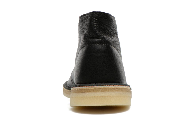 Desert Boot Blk Tumbled Lea