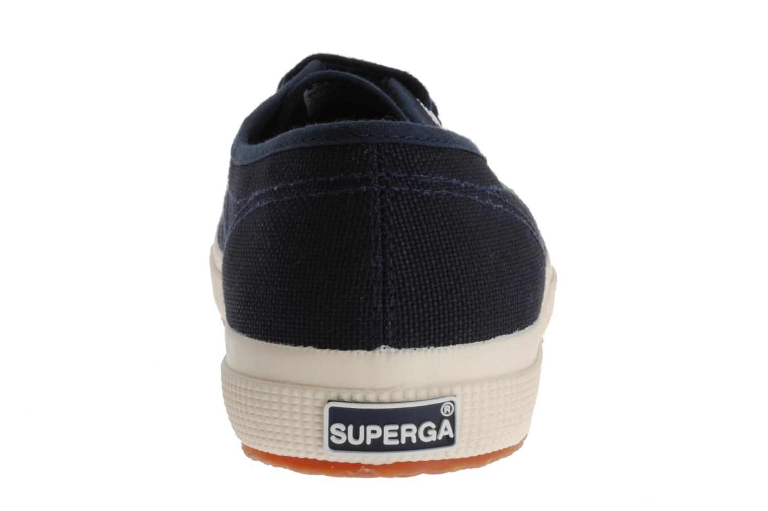 Trainers Superga 2750 Cotu M Blue view from the right