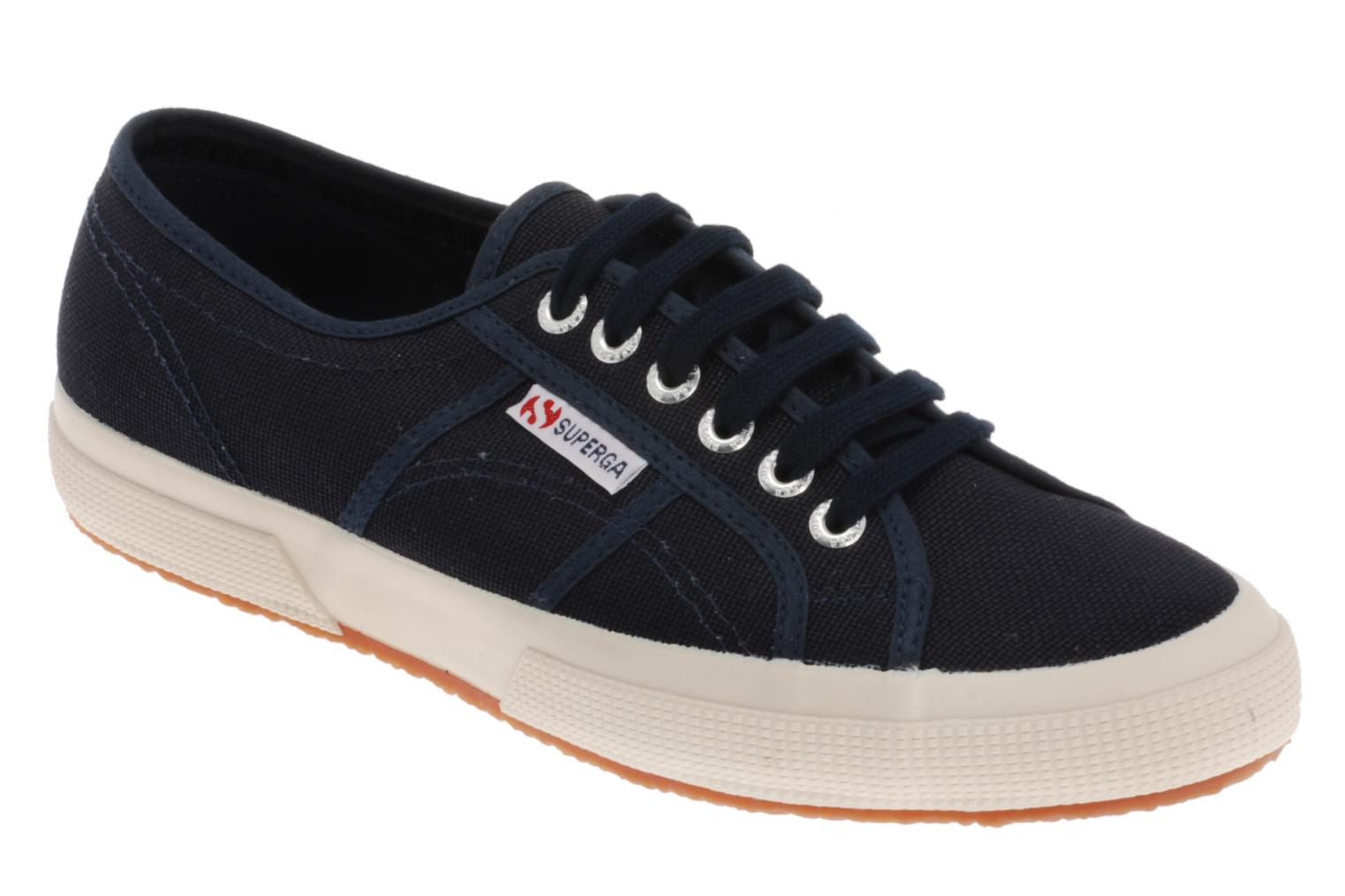 Trainers Superga 2750 Cotu M Blue detailed view/ Pair view