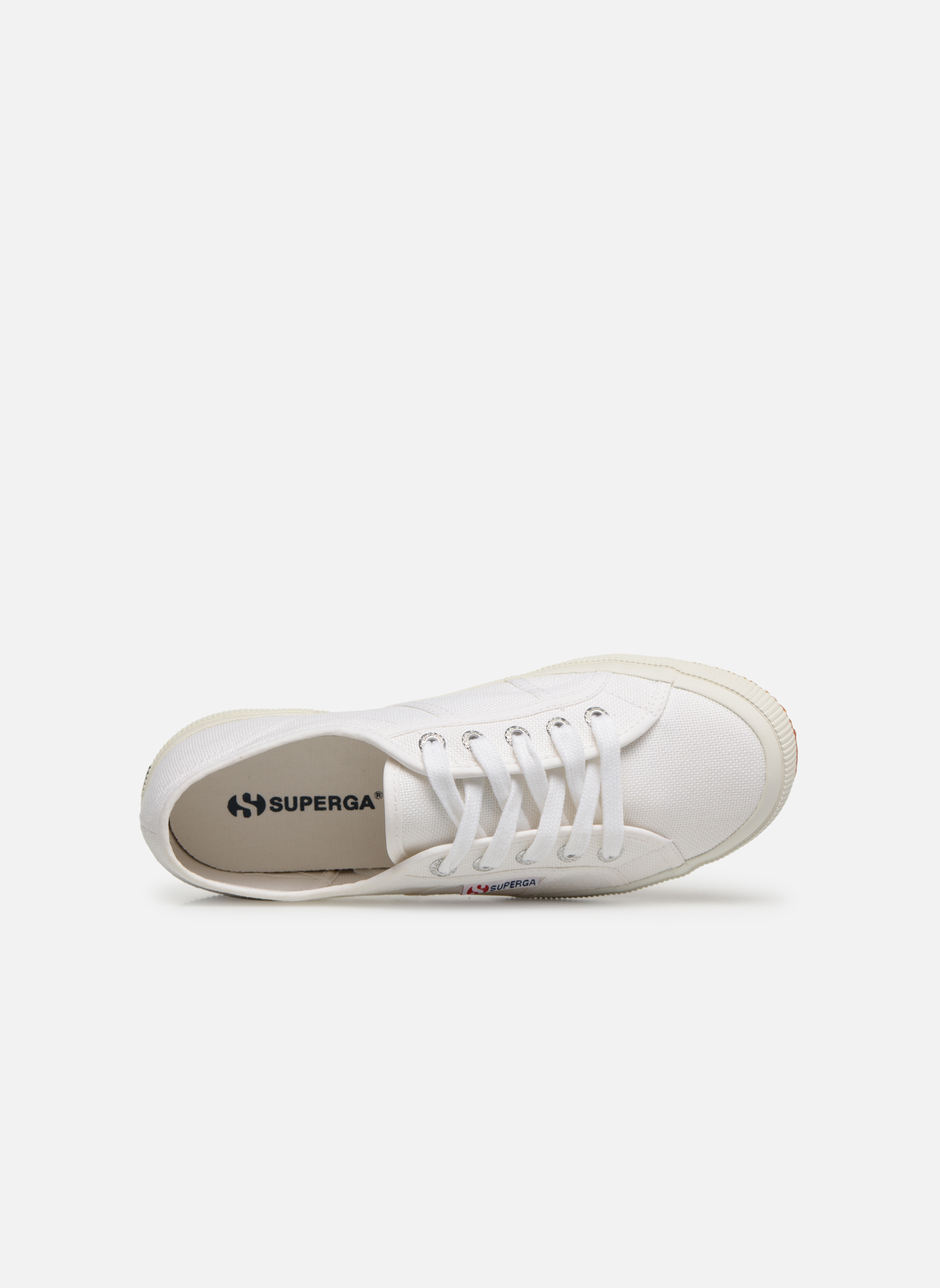 Trainers Superga 2750 Cotu W White view from the left