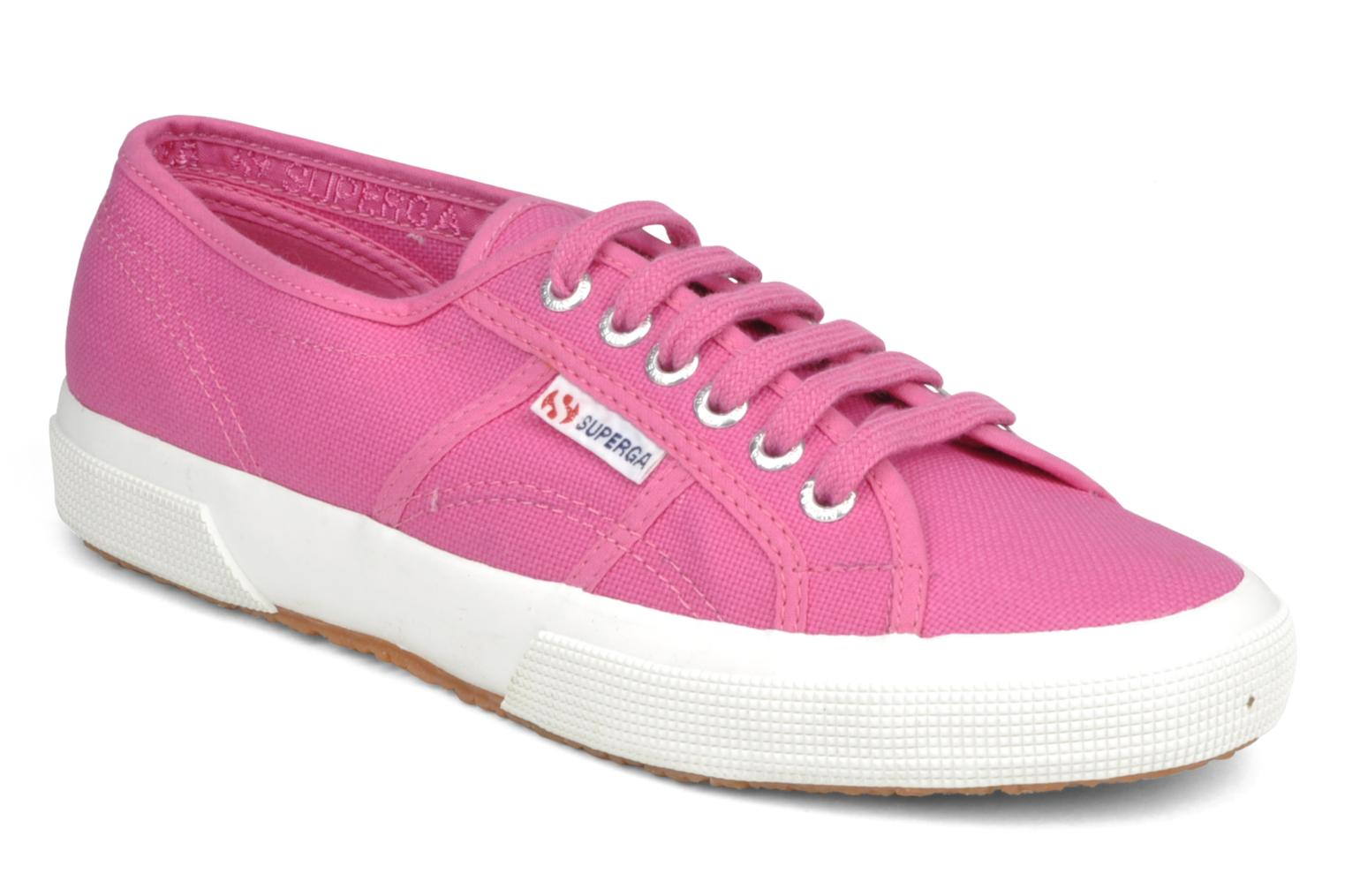 Trainers Superga 2750 Cotu W Pink detailed view/ Pair view