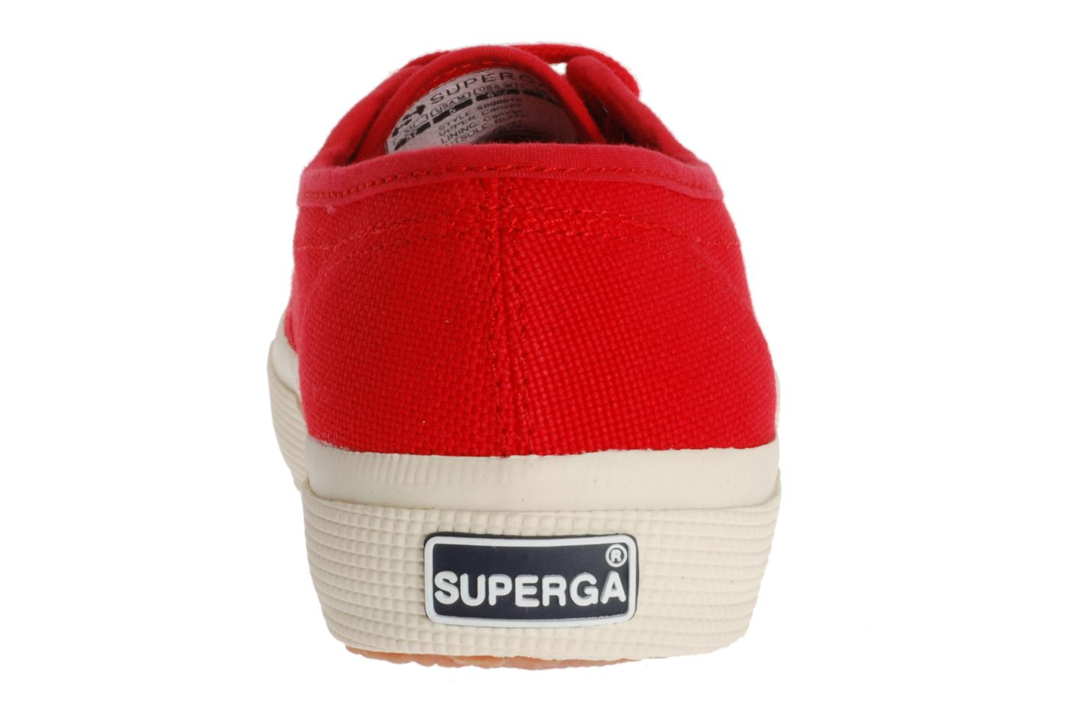 Red Coral Superga 2750 Cotu W (Orange)