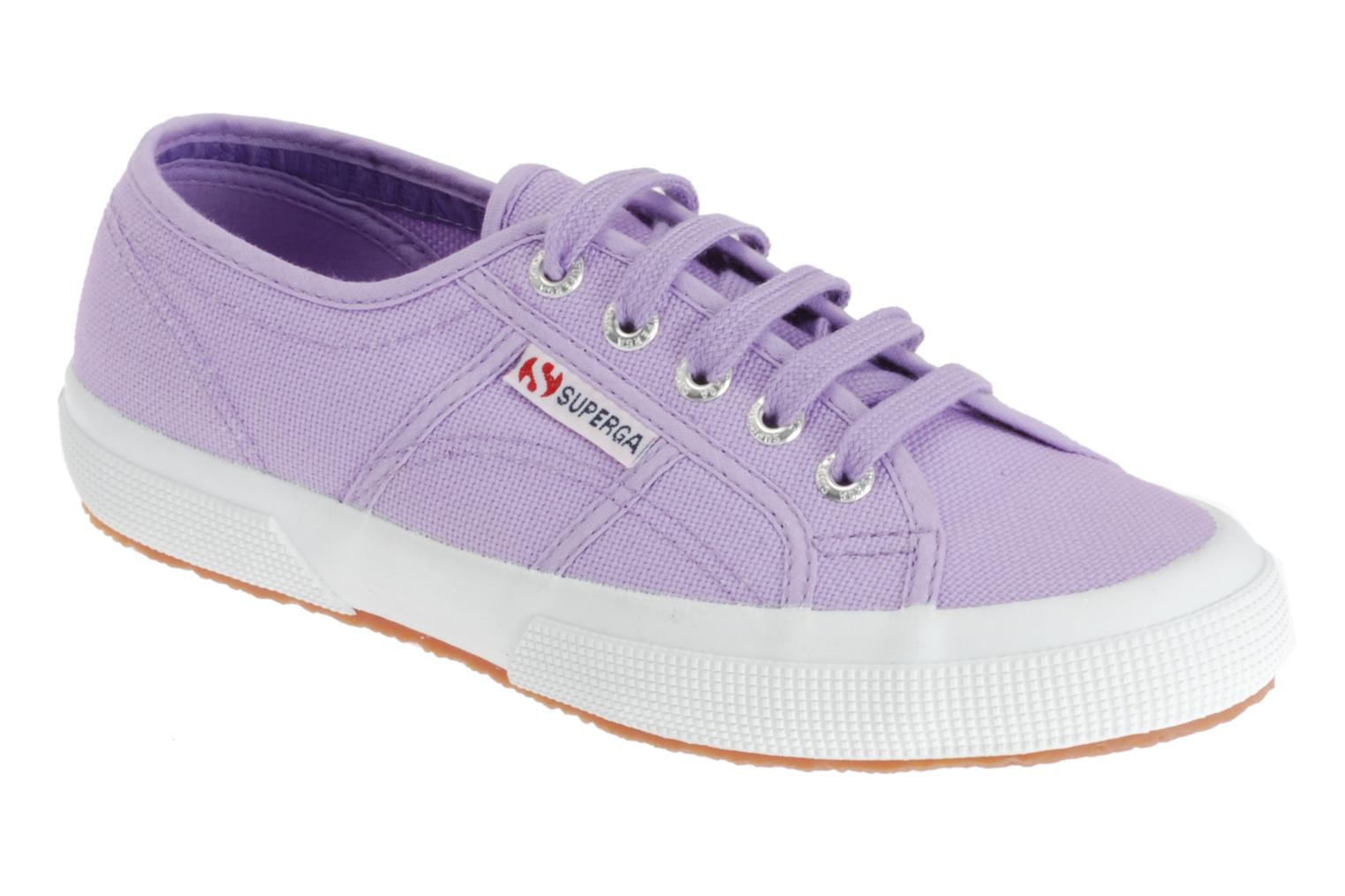 Trainers Superga 2750 Cotu W Purple detailed view/ Pair view