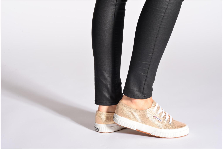 Sneakers Superga 2750 Lame W Grigio immagine dal basso