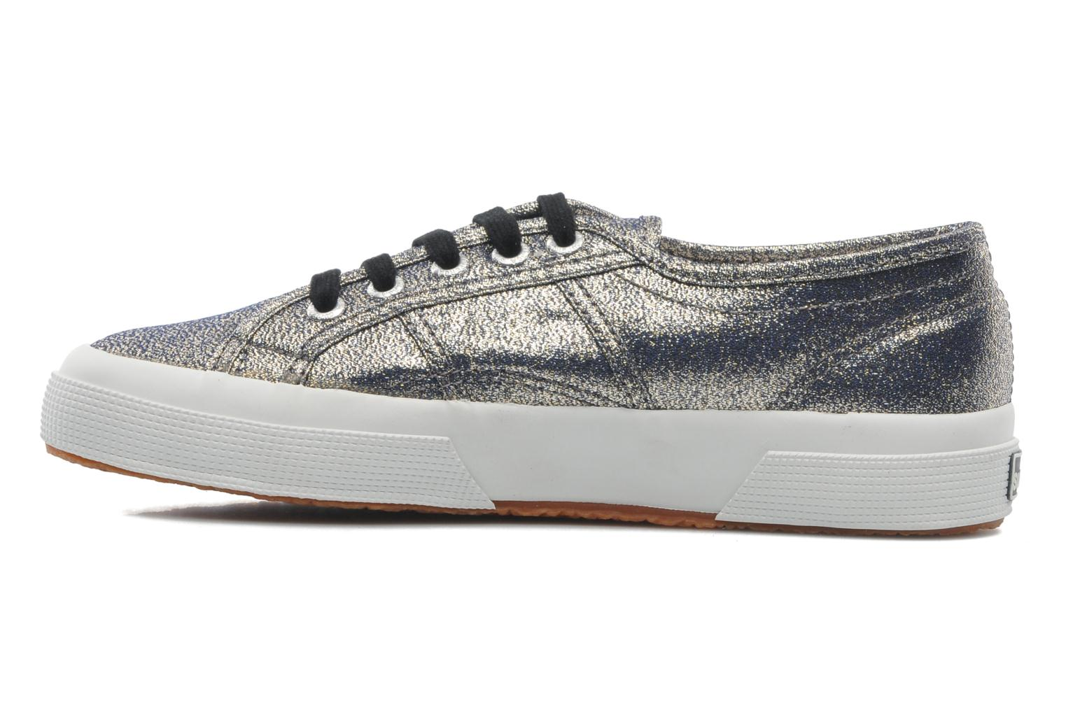 Trainers Superga 2750 Lame W Grey front view