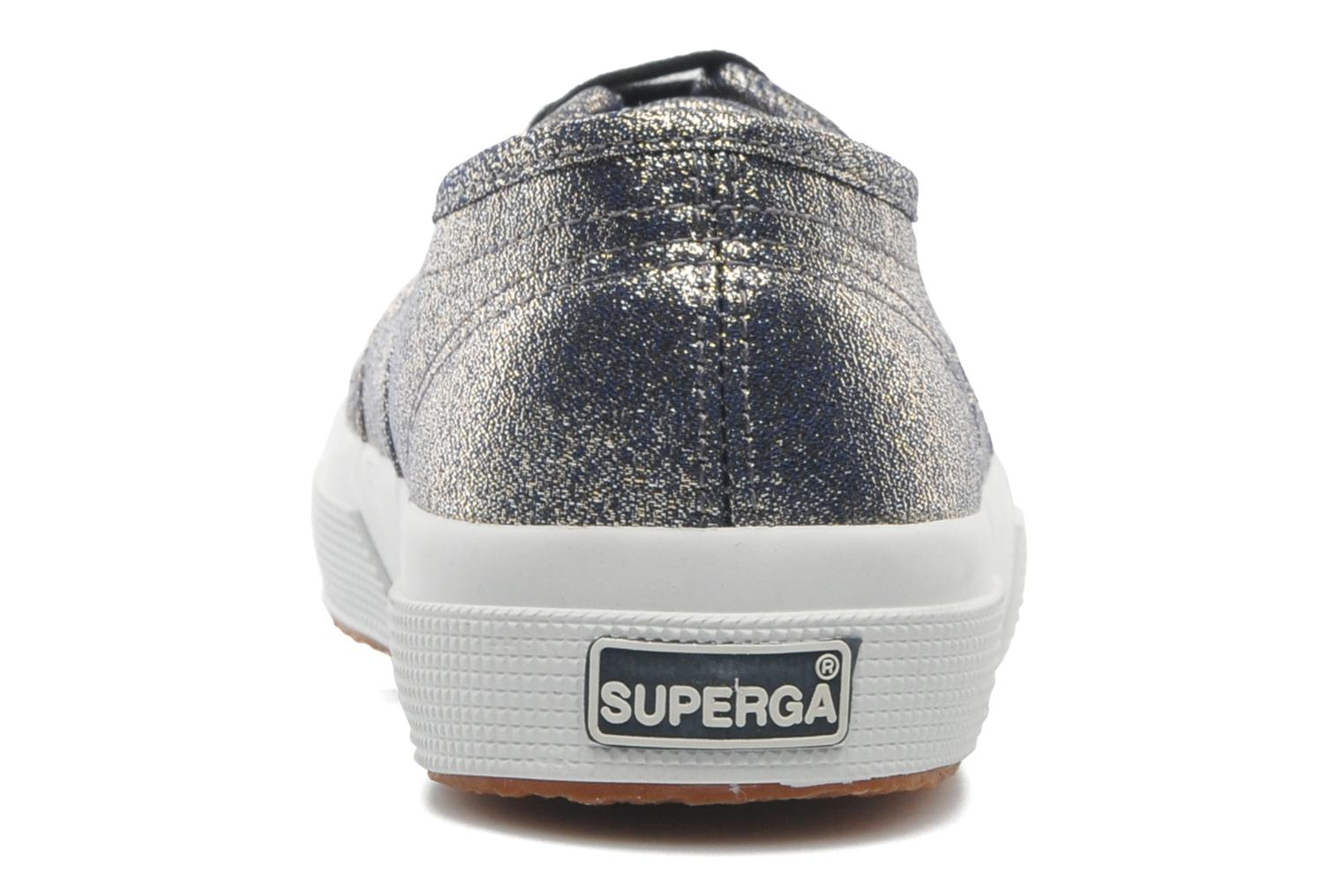 Trainers Superga 2750 Lame W Grey view from the right