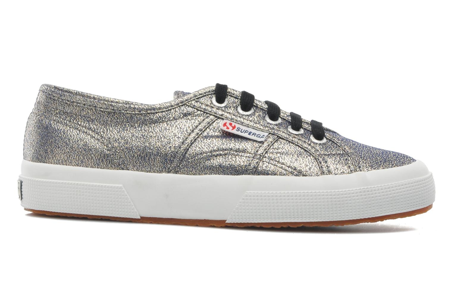 Trainers Superga 2750 Lame W Grey back view