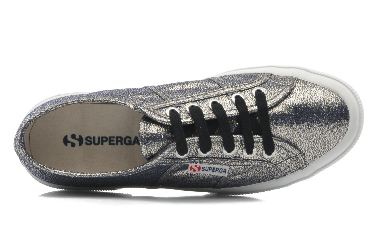 Trainers Superga 2750 Lame W Grey view from the left