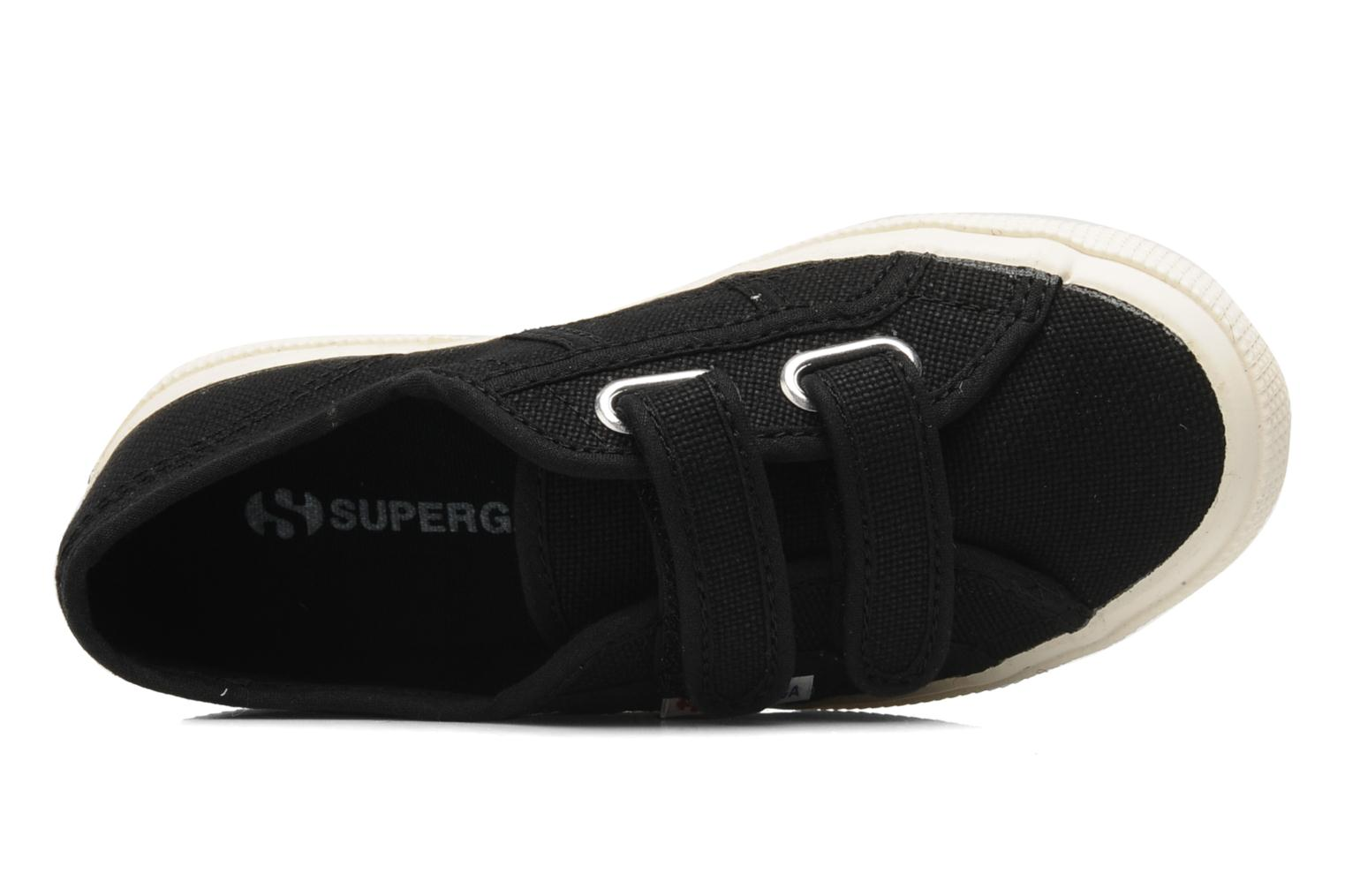 Sneakers Superga 2750 J Velcro E Zwart links