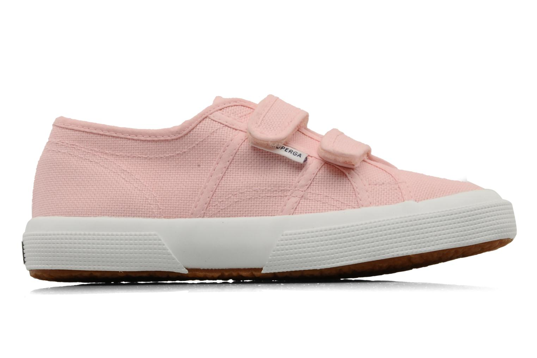 Sneaker Superga 2750 J Velcro E rosa ansicht von hinten
