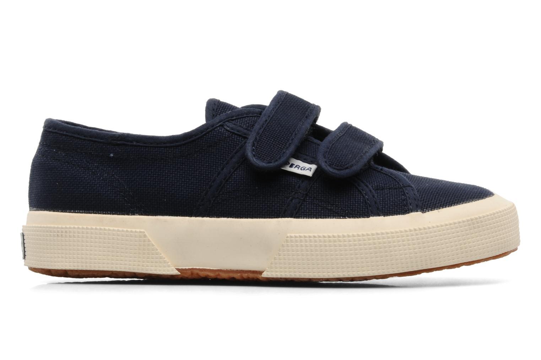 Sneaker Superga 2750 J Velcro E blau ansicht von hinten