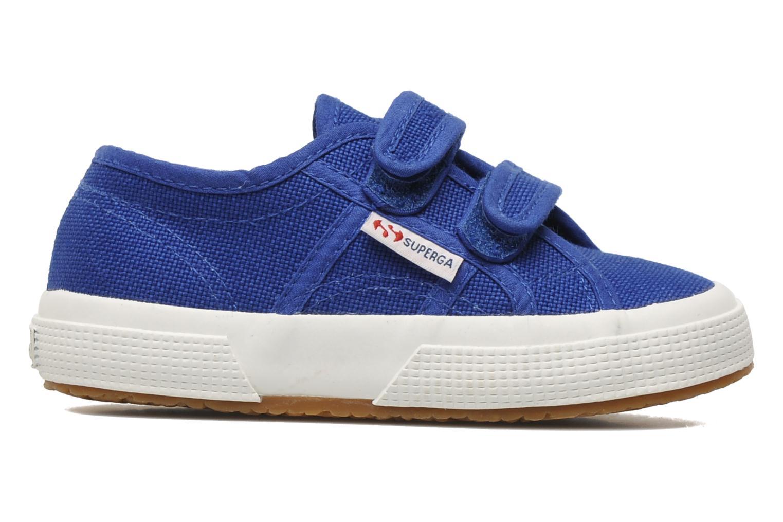 Sneakers Superga 2750 J Velcro E Blauw achterkant