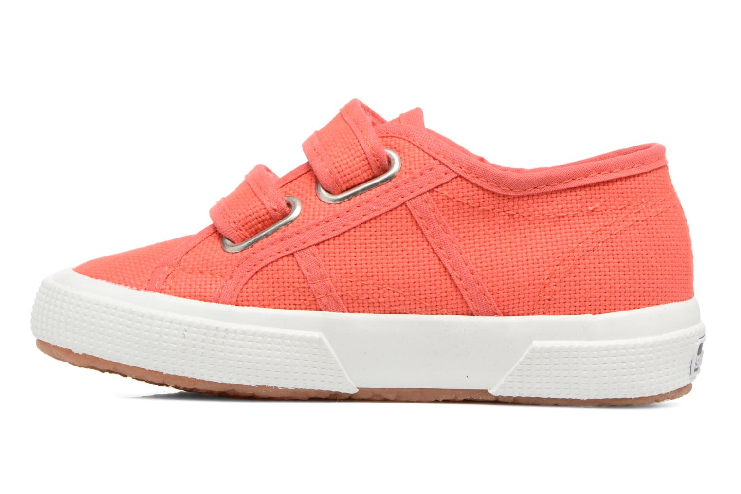 Trainers Superga 2750 J Velcro E Red front view