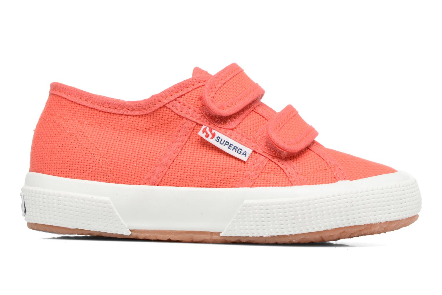 Trainers Superga 2750 J Velcro E Red back view