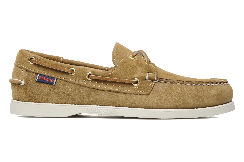 Chaussures à lacets Sebago Docksides M Beige vue derrière