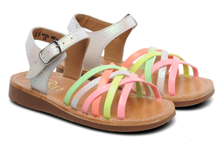 Sandalen Pom d Api Yapo Lux Multicolor 3/4'