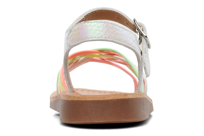 Sandalen Pom d Api Yapo Lux Multicolor rechts