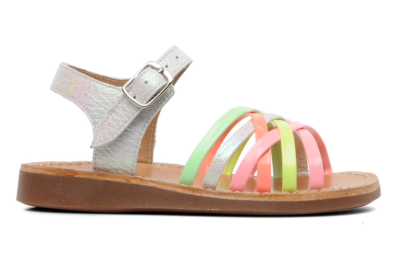 Sandalen Pom d Api Yapo Lux Multicolor achterkant